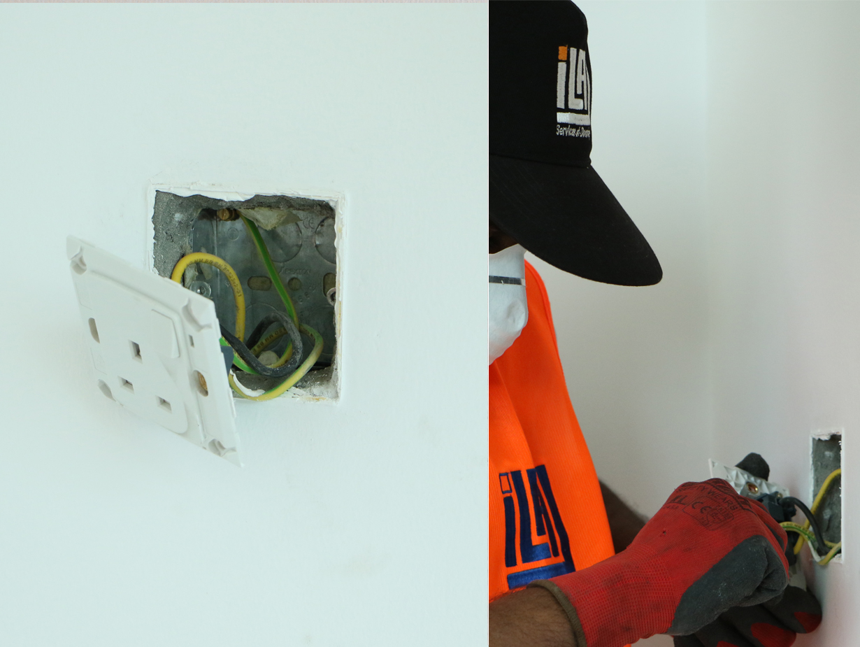 Electrical Works at Cedre Villas, DSO