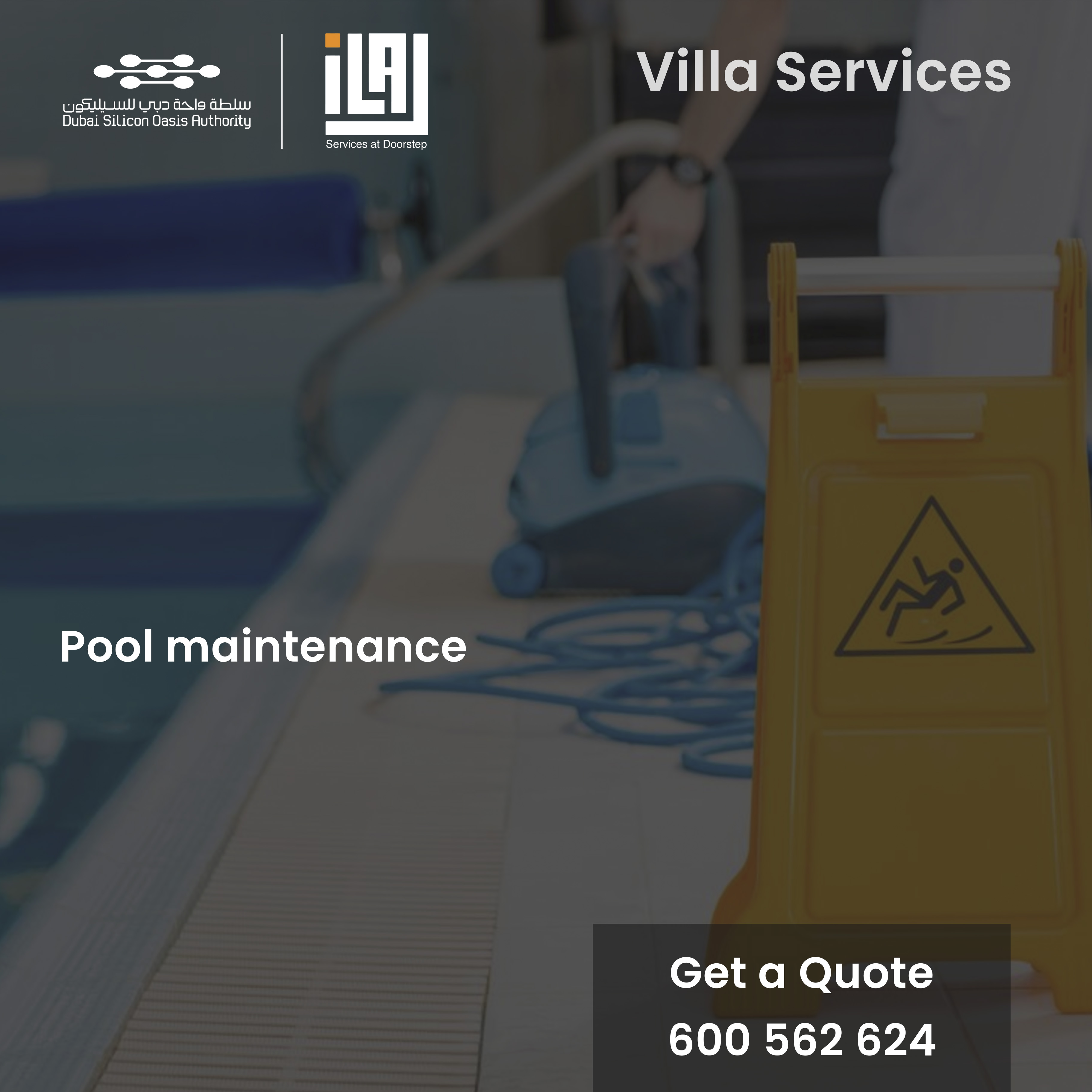pool maintenance & cleaning services